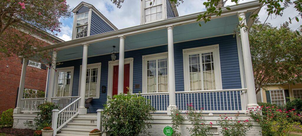 Beaumont House Front Porch & Steps